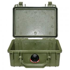 Кейс Pelican 1120 Protector Case без поропласта зеленый 1120-001-130E
