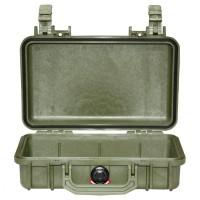 Кейс Pelican 1170 Protector Case без поропласта зеленый 1170-001-130E
