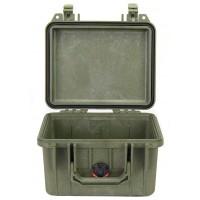 Кейс Pelican 1300 Protector Case без поропласта зеленый 1300-001-130E