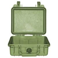 Кейс Pelican 1200 Protector Case без поропласта зеленый 1200-001-130E
