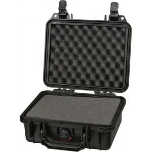 Кейс Pelican 1200 Protector Case с поропластом черный 1200-000-110E