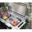 Холодильник Elite Cooler бежевый/оранжевый Pelican 70QT 70Q-2-TANORG