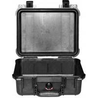 Кейс Pelican 1400 Protector Case без поропласта черный 1400-001-110E