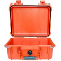 Кейс Pelican 1400 Protector Case без поропласта оранжевый 1400-001-150E