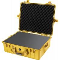 Кейс Pelican 1600 Protector Case с поропластом желтый 1600-000-240E