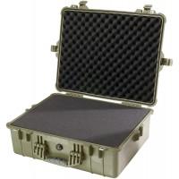 Кейс Pelican 1600 Protector Case с поропластом зеленый 1600-000-130E