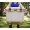 Холодильник Elite Cooler бежевый/оранжевый Pelican 50QT 50Q-2-TANORG