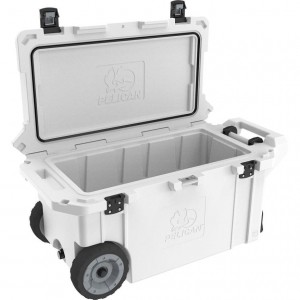 Холодильник Elite Wheeled Cooler белый Pelican 80QT 80QW-1-WHT