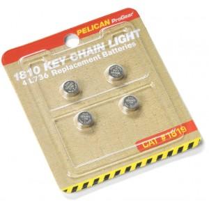 Батарейки круглые для фонаря 1810 Pelican 1819 018100-3010-000E