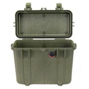 Кейс Pelican 1430 Protector Top Loader Case без поропласта зеленый 1430-001-130E