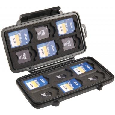 Кейс Pelican 0915 Micro Memory SD Card Case  для карт памяти 0910-015-110E