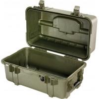 Кейс Pelican 1460 Protector Case без поропласта зеленый 1460-001-130E