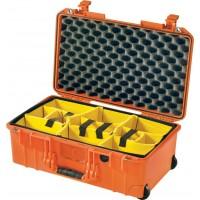 Кейс Pelican Air 1535 мягкие перегородки оранжевый 015350-0041-150E