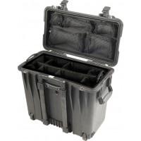 Кейс Pelican 1444 Protector Top Loader Case с мягкими перегородками черный 1440-004-110E