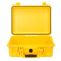 Кейс Pelican 1450 Protector Case без поропласта желтый 1450-001-240E