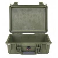 Кейс Pelican 1450 Protector Case без поропласта зеленый 1450-001-130E