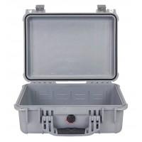 Кейс Pelican 1450 Protector Case без поропласта серебро 1450-001-180E