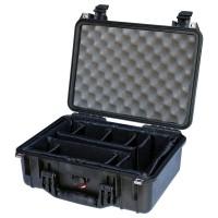 Кейс Pelican 1454 Protector Case с мягкими перегородками черный 1450-004-110E