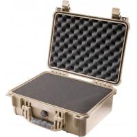 Кейс Pelican 1450 Protector Case с поропластом коричневый 1450-000-190E