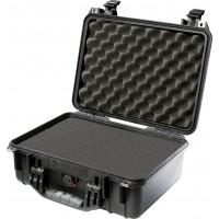 Кейс Pelican 1450 Protector Case с поропластом черный 1450-000-110E