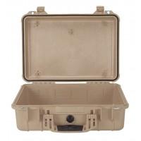 Кейс Pelican 1500 Protector Case без поропласта коричневый 1500-001-190E