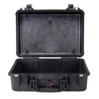 Кейс Pelican 1500 Protector Case без поропласта черный 1500-001-110E