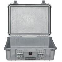 Кейс Pelican 1520 Protector Case без поропласта серебро 1520-021-180E
