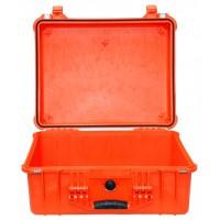 Кейс Pelican 1550 Protector Case без поропласта оранжевый 1550-001-150E