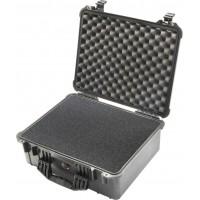 Кейс Pelican 1550 Protector Case с поропластом черный 1550-000-110E