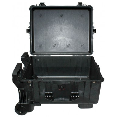 Кейс Pelican 1610M Protector Mobility Case с усиленной колесной базой без поропласта черный 016100-0019-110E
