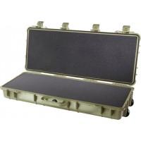 Оружейный кейс Pelican 1700 Protector Long Case с поропластом зеленый 1700-000-130