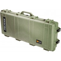 Оружейный кейс Pelican 1700 Protector Long Case без поропласта зеленый 1700-001-130