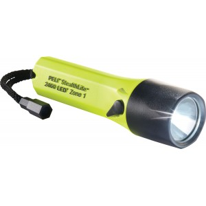Фонарь LED Pelican 2460Z1 StealthLite™ Flashlight ATEX Zone 1 желтый 2460-050-241E