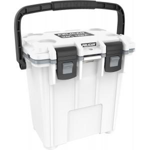 Холодильник Elite Cooler белый/серый Pelican 20QT