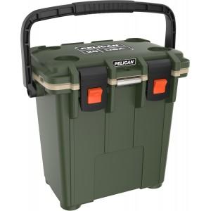Холодильник Elite Cooler зеленый/бежевый Pelican 20QT