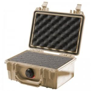 Кейс Pelican 1120 Protector Case с поропластом коричневый 1120-000-190E