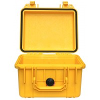 Кейс Pelican 1300 Protector Case без поропласта желтый 1300-001-240