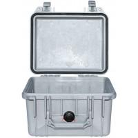 Кейс Pelican 1300 Protector Case без поропласта серебро 1300-001-180