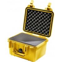 Кейс Pelican 1300 Protector Case с поропластом желтый 1300-000-240