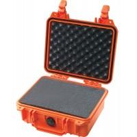 Кейс Pelican 1200 Protector Case с поропластом оранжевый 1200-000-150E