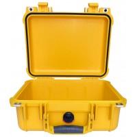 Кейс Pelican 1400 Protector Case без поропласта желтый 1400-001-240