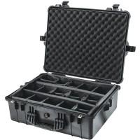 Кейс Pelican 1600 Protector Case с мягкими перегородками черный 1600-004-110