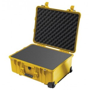 Кейс Pelican 1560 Protector Case с поропластом желтый 1560-000-240