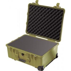 Кейс Pelican 1560 Protector Case с поропластом зеленый 1560-000-130