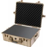 Кейс Pelican 1600 Protector Case с поропластом коричневый 1600-000-190