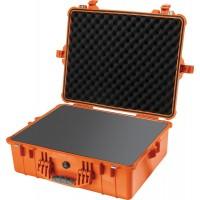 Кейс Pelican 1600 Protector Case с поропластом оранжевый 1600-000-150