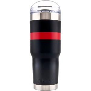 Термокружка Pelican Traveler Tumbler 0.95 Black - Red TRAVSD32