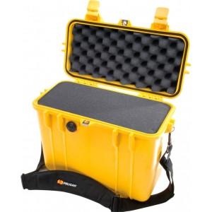 Кейс Pelican 1430 Protector Top Loader Case с поропластом желтый 1430-000-240