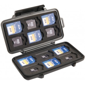 Кейс Pelican 0915 Micro Memory SD Card Case  для карт памяти 0910-015-110