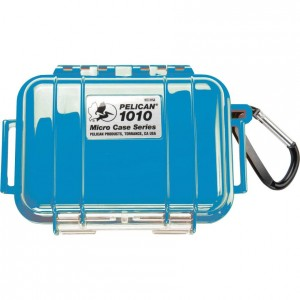 Кейс Pelican 1010 Micro Case голубой 1010-025-120